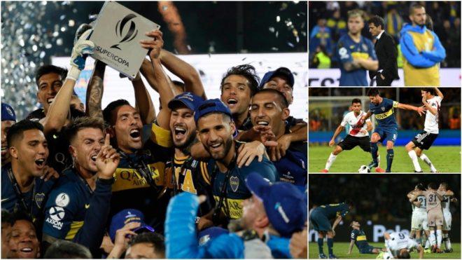 Los contrastes del último año de Boca, el actual campeón de la...