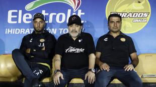 Diego Armando Maradona lamentó que Dorados se viera alcanzado en el...