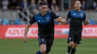 Espinoza cuenta con minutos en la MLS