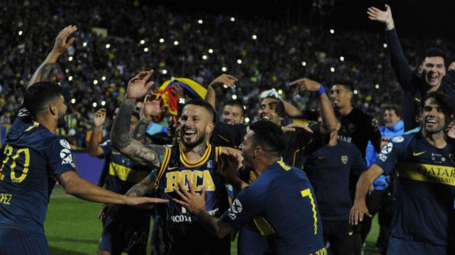 Los jugadores darán la vuelta olímpica en La Bombonera