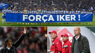 Homenaje a Casillas, Lage y Keizer.