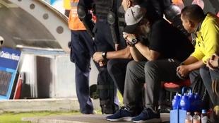 Diego Armando Maradona quedó a las puertas del ascenso en México.