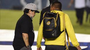 Diego Armando Maradona, DT de Dorados.