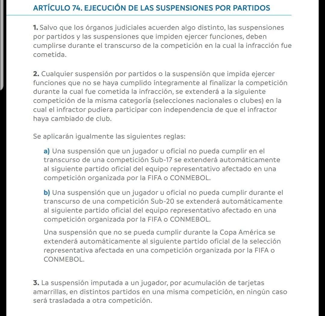 Conmebol confirmó la sanción a Borré: ¿Puede jugar la Recopa Sudamericana?
