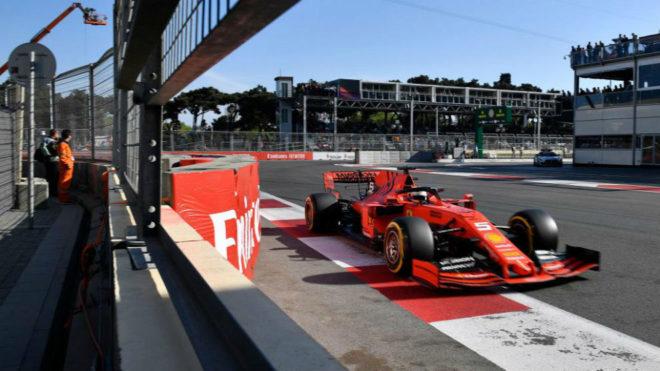 Ferrari adelanta dos carreras su primera evolución de motor