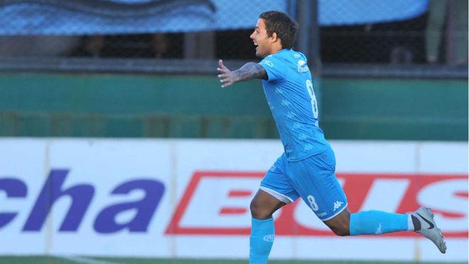 Marcelo Meli, autor del primer gol