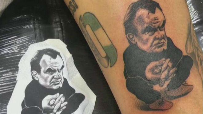 Exseleccionado argentino sorprendió a todos y se tatuó a Marcelo Bielsa