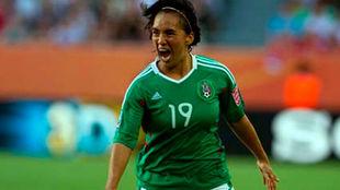 Mónica Ocampo, autora del mejor gol de la história de los mundiales