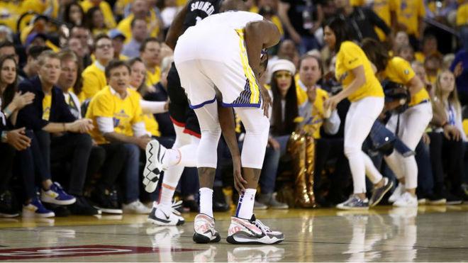 Durant se perderá el sexto ante los Rockets, pero volverá para las...