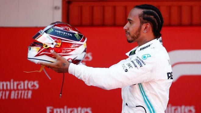 Hamilton se aburre con Bottas