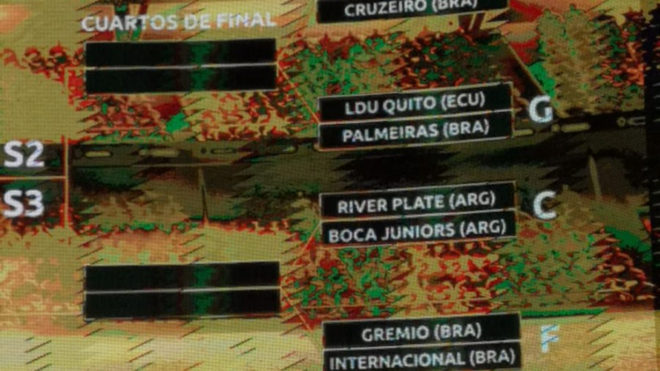 El simulacro del sorteo de la Libertadores es una bomba: ¡Boca vs...