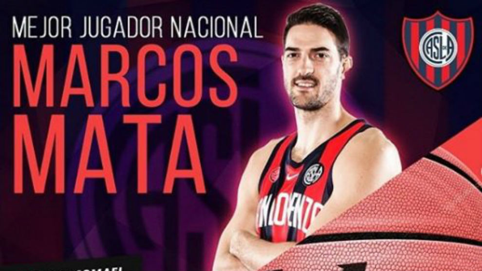 Marcos Mata, MVP de la temporada en la Liga Nacional