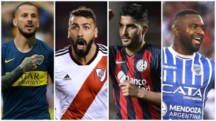Bendetto, Pratto, Blandi y García, las cartas goleadoras de los...
