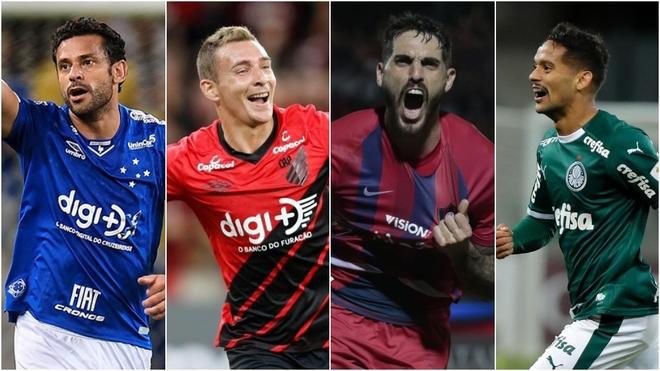 Cruzeiro, Paranaense, Cerro Porteño y Palmeiras serán rivales de los...