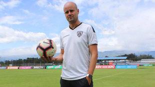Miguel Ángel Ramírez, entrenador del Independiente del Valle.