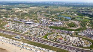 Imagen del circuito de Zandvoort actual