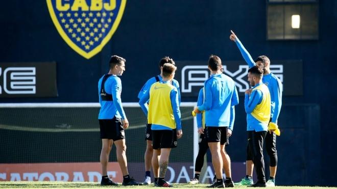 Boca trabaja pensando en la vuelta de cuartos de final de la Copa de...