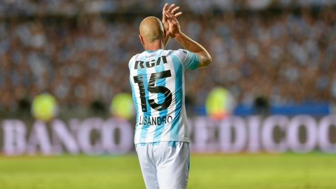 Lisandro López anotó el 2-2 en el juego de vuelta ante Tigre por la...