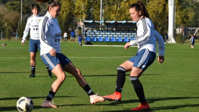 La Selección Argentina se prepara para el Mundial de Francia 2019