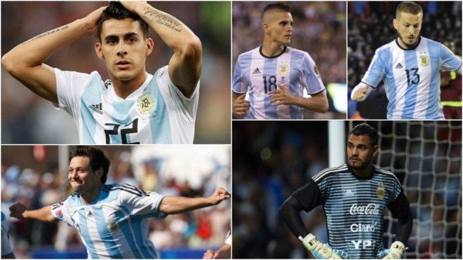 Los ausentes de la Selección Argentina