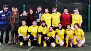 Primer equipo de fútbol femenino del Vaticano Sport in Vaticano.