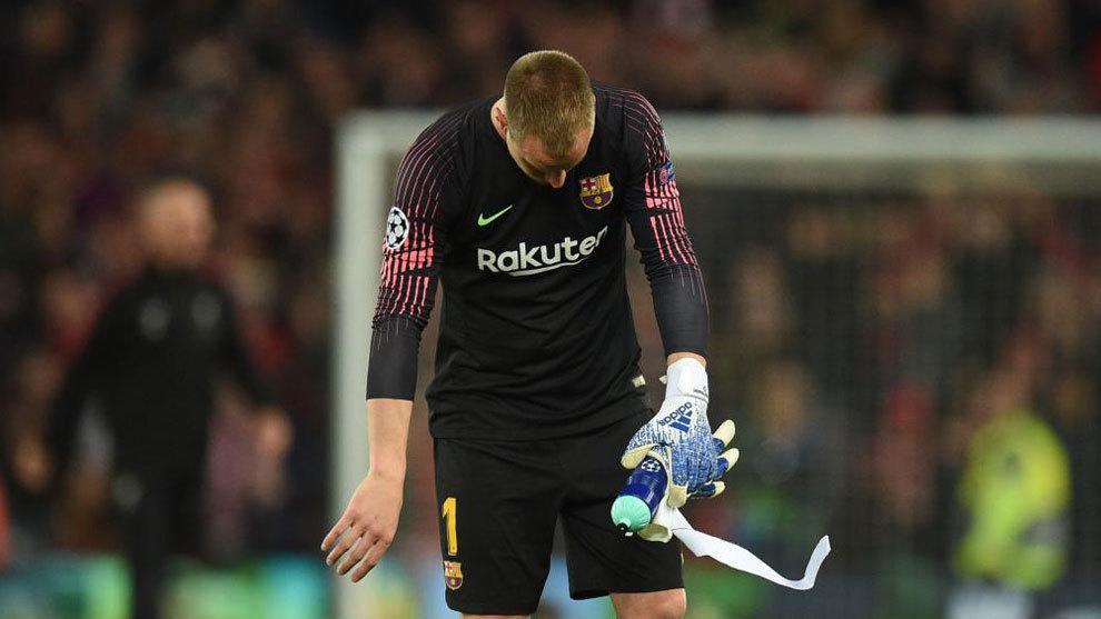 Barcelona pierde a Ter Stegen por lesión para final de La Liga