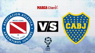 Argentinos Juniors vs Boca Juniors. Horario y dónde ver por TV...