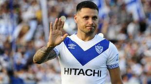 Mauro Zárate, durante su paso por Vélez