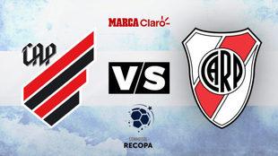 Athletico Paranaense vs River Plate: horario y dónde ver