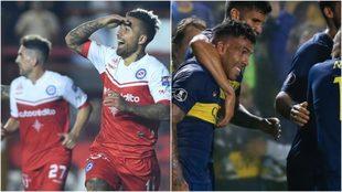 Tremenda paridad entre Argentinos y Boca en La Paternal