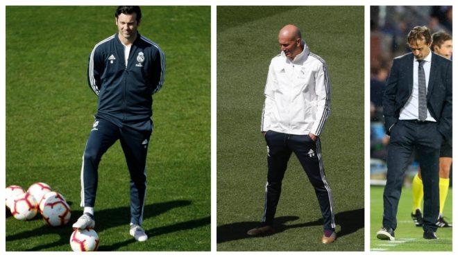 Solari, Zidane y Lopetegui, los tres técnicos que tuvo el Real...