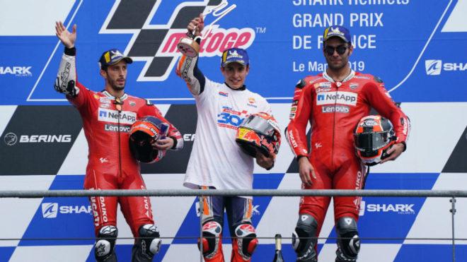 Márquez puede con las Ducati