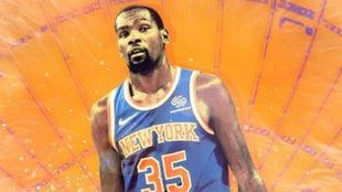 """Kevin Durant ya habría dado el """"sí, quiero"""" a los New York..."""