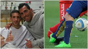 Tevez y la lesión de Ham que no olvida La Paternal