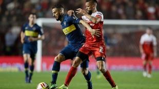 Boca y Argentinos igualaron sin goles en La Paternal