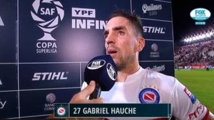 Gabriel Hauche, futbolista de Argentinos Juniors.