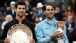 Djokovic y Nadal garantizan la presencia de Serbia y España en la...