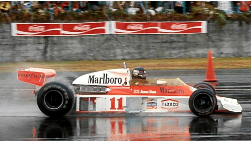 Niki Lauda, en el Gran Premio de Japón de 1976.