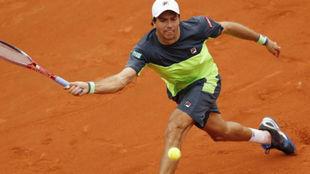 Berlocq no pudo en su debut en la qualy de Roland Garros