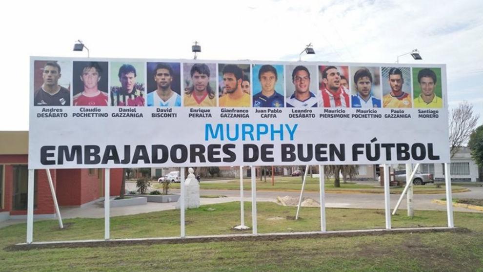 El cartel que da la bienvenida a todos los que visitan Murphy.