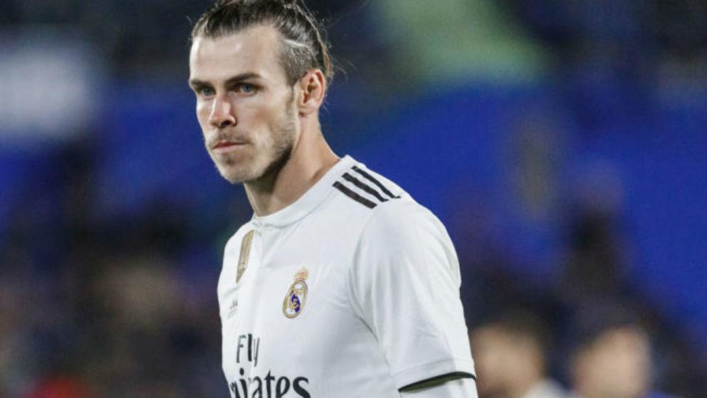Bale, durante un partido.