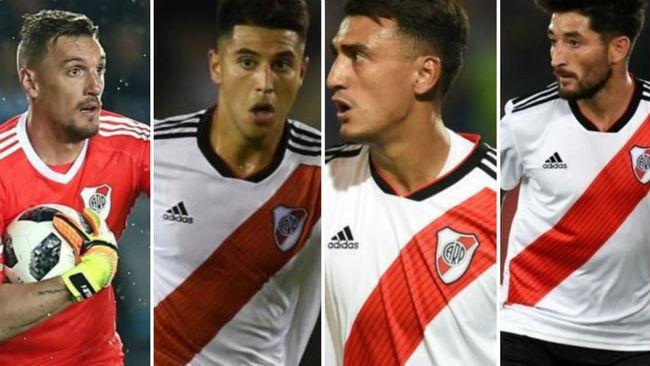 Armani, Palacios, Suárez y Casco, todos pelean por un lugar en el...