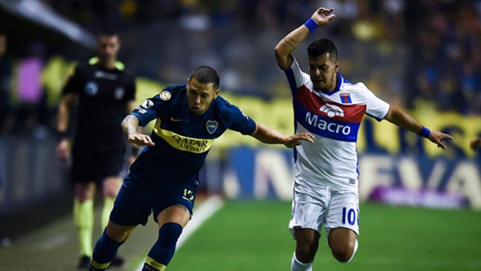 Boca venció 4-1 a Tigre en La Bombonera
