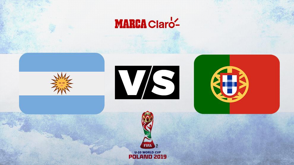 lujo mejor sitio web la compra auténtico Copa Mundial Sub 20 2019: Argentina vs Portugal: Horario y ...