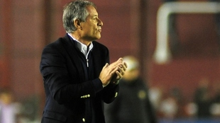 Ariel Holan, director técnico de Independiente..