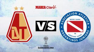 Deportes Tolima vs Argentinos Juniors: Horario y dónde ver en TV...