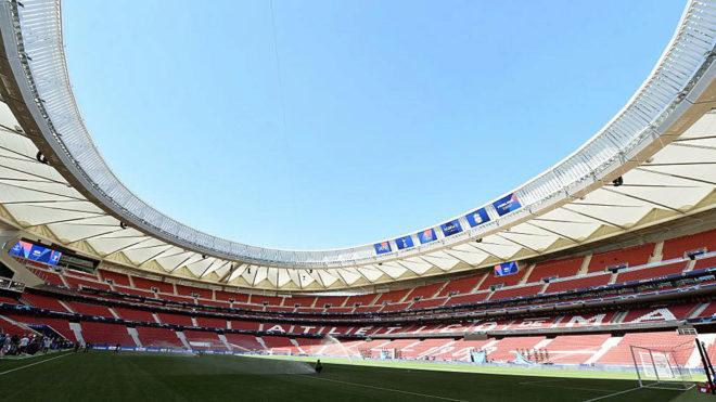 El Wanda Metropolitano, estadio donde se jugará la final.