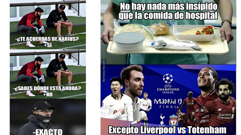 Los mejores memes de la final de la Champions League