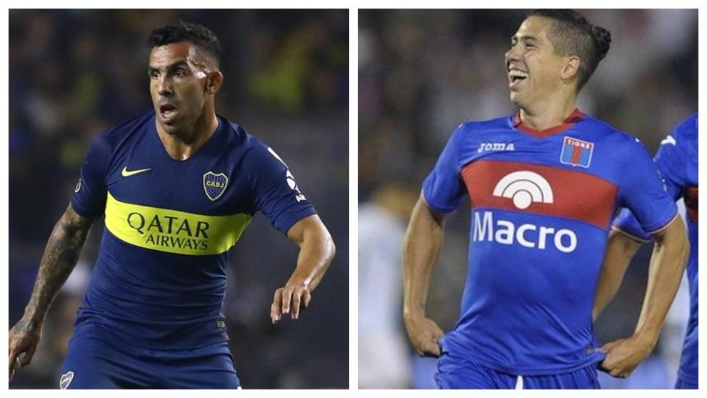 Tevez y Morales, cartas de gol en Boca y Tigre