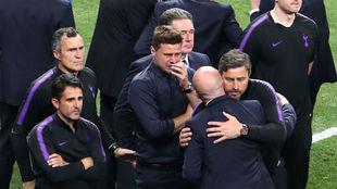 Pochettino no pudo contener las lágrimas después del partido